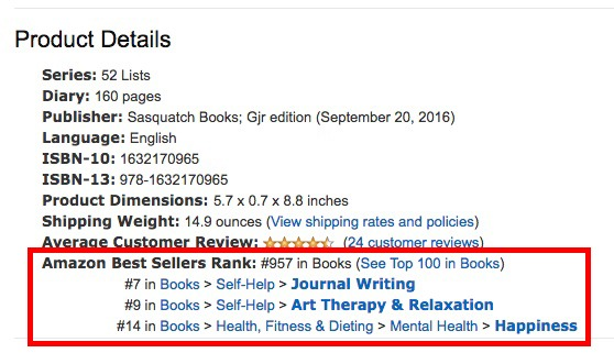 Amazon Journal Bestseller #6